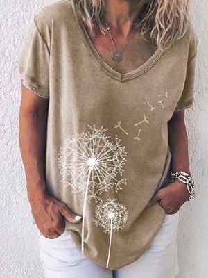 V Neck Casual Shirts & Tops