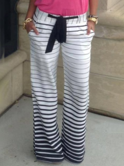 Stripe Casual Striped Dresses