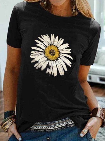Floral Printed Holiday Shirts & Tops