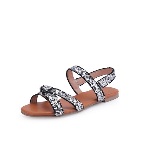 Casual Summer Sequin Sandals