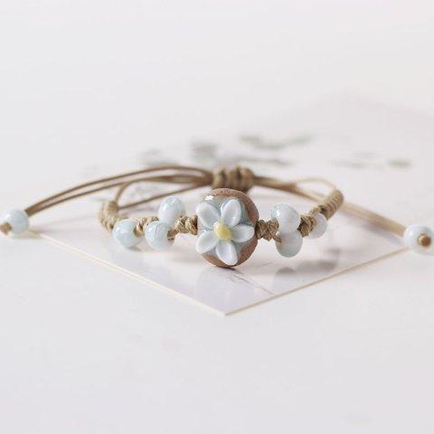 Flower Holidy Boho Fashion Woven Bracelet