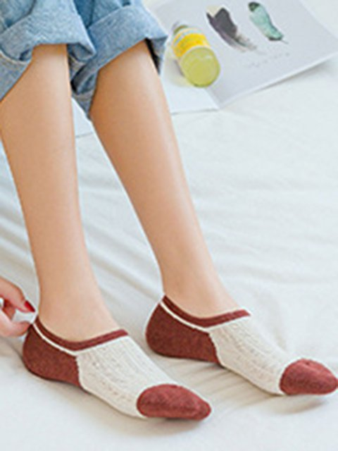Women Casual Cotton Short Socks