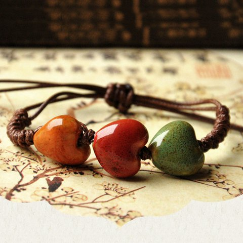Handmade Alloy Fashion Ceramic Bracelet