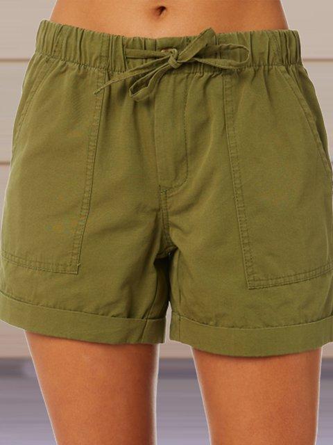 Drawstring Casual Pants