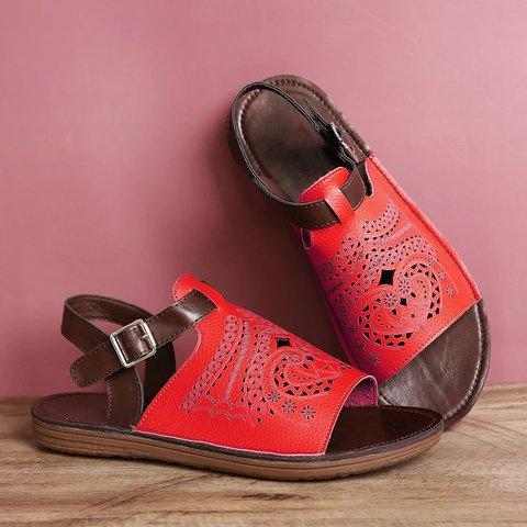 Casual Summer Pu Sandals