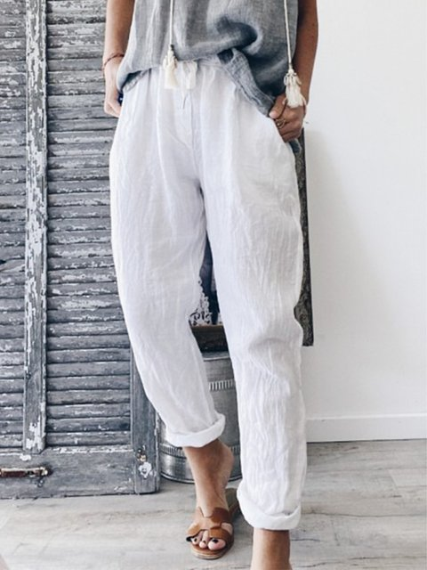 Womens Summer Casual Plus Size Pants