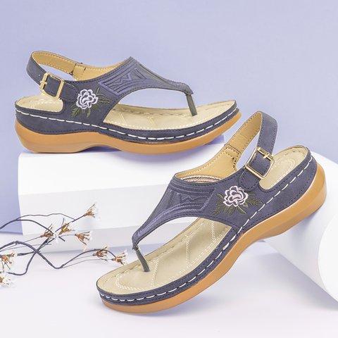 Pu Summer Sandals