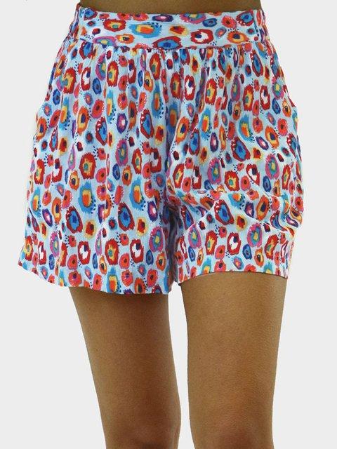 Flower Holiday Printed Pants