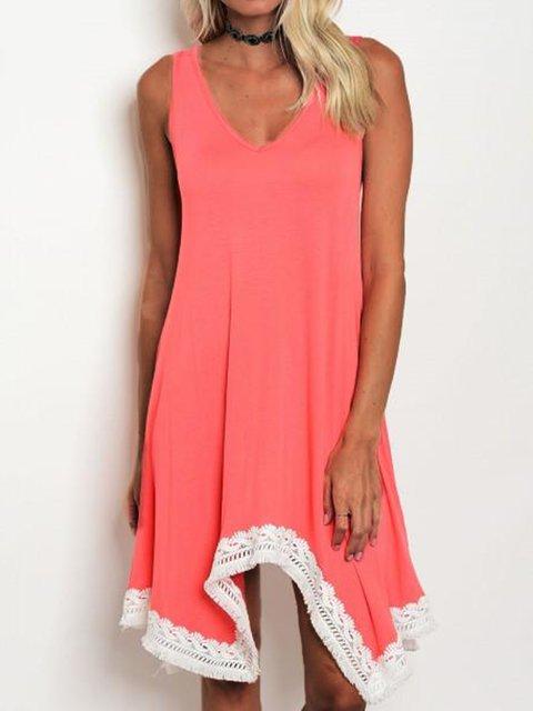 Summer Sleeveless Mini Dress Women Dresses