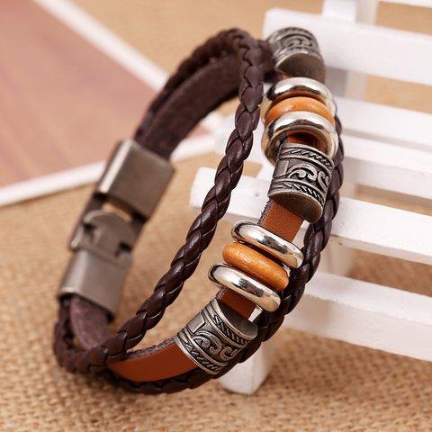 Deep Brown Jewelry All Season Alloy Casual Jewelry Bracelet