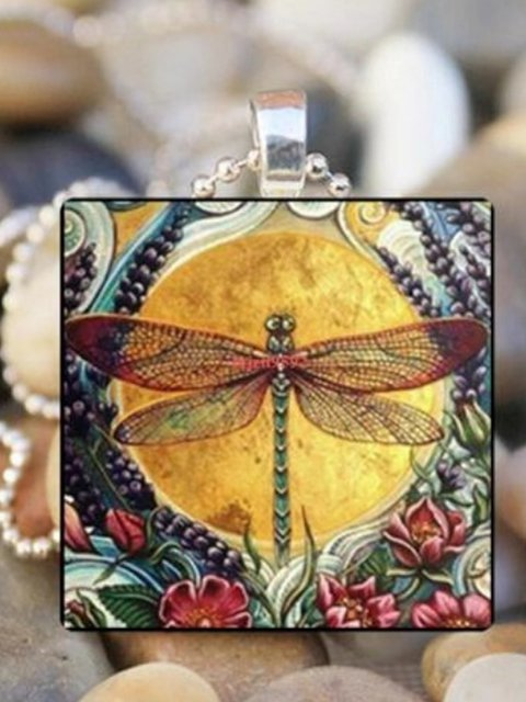 Dragonfly Jewelry Vintage Alloy Necklaces