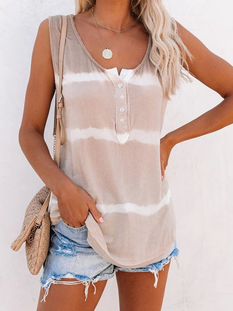 Naked Pink Casual Round Neck Color-Block Shirts & Tops