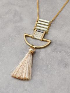 Tassel Necklace Necklace