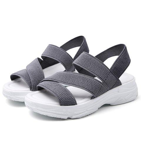 Fabric Elastic Band Summer Sandals