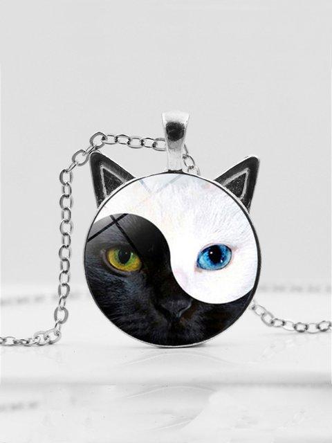 Vintage Cat Necklace