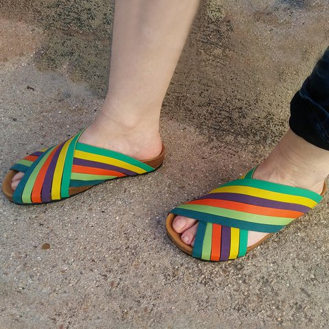 Flat Heel Holiday Summer Slippers