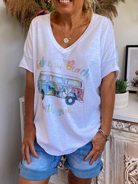 White Casual Cotton-Blend Shirts & Tops