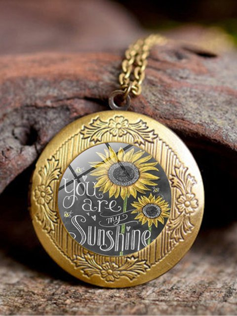 Bz818 Brown Alloy Casual Necklaces