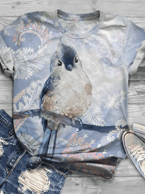 Color Animal Vintage Shirts & Tops