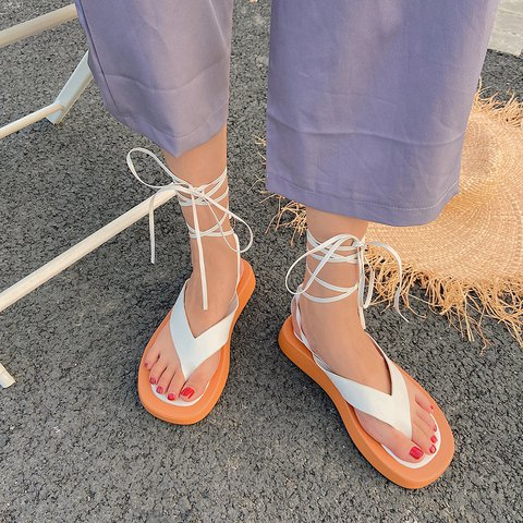 Summer Leatherette Sandals