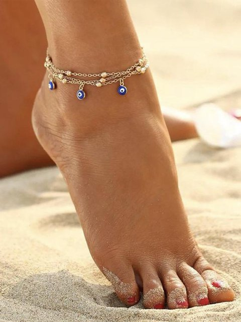 Alloy Anklets