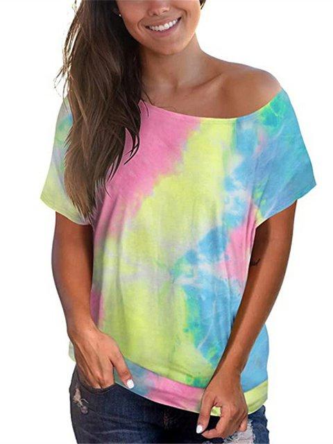 Casual Shift Floral-Print Shirts & Tops