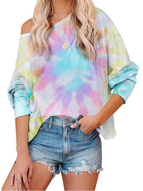 Shift Long Sleeve Cotton Casual Shirts & Tops