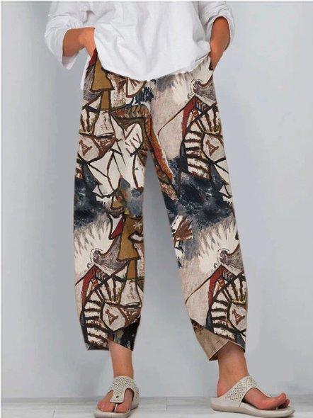 Tribal Vintage Cotton Pants