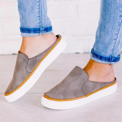 Flat Heel Seaside Summer Slippers