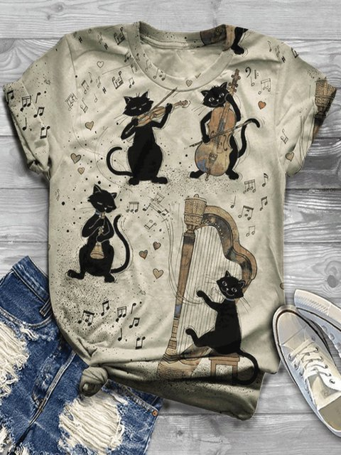 Plus Size Cotton-Blend Casual Shirts & Tops