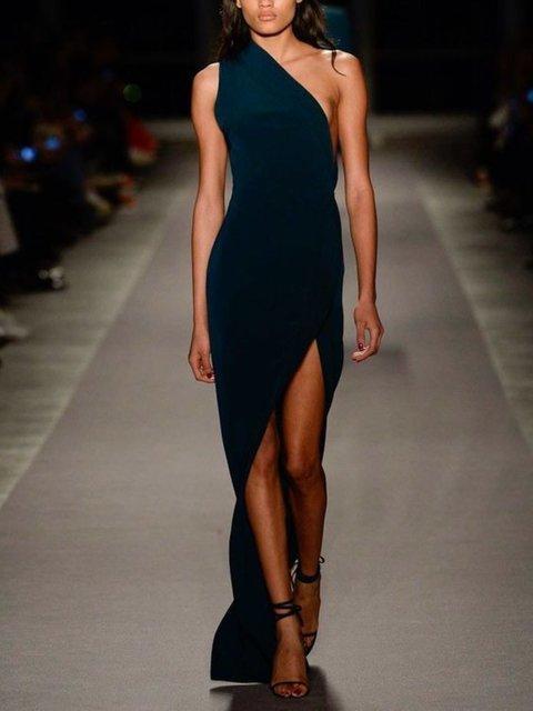 Casual Sleeveless Plus Size Dress
