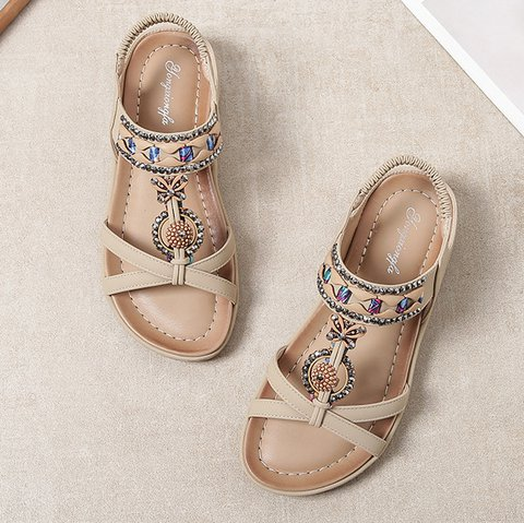 Microfiber Leather Sandals