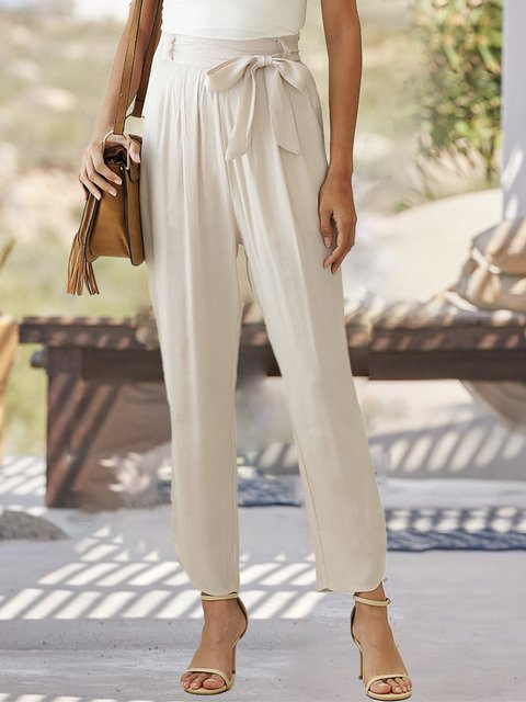 Casual  With Belt Pant