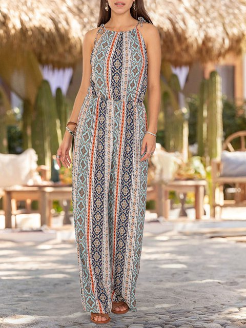 Women Holiday Tribal One-Pieces