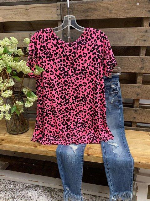 Short Sleeve Casual Shirt & Top