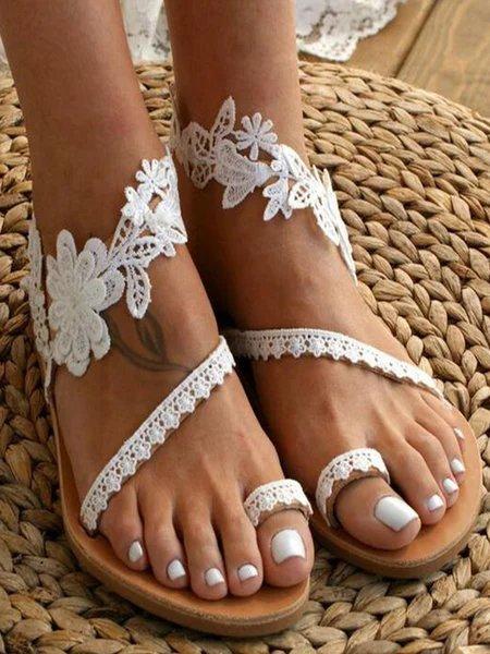 Lace Summer Sandals