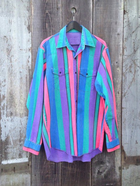 Blue Shift Shirt Collar Stripes Long Sleeve Shirts & Tops