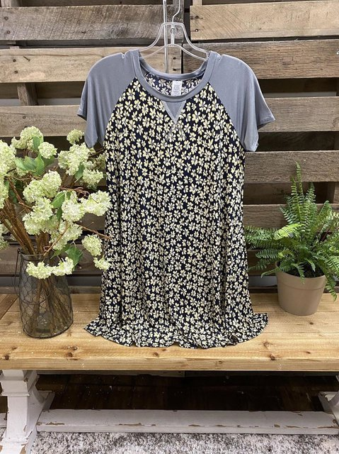 Casual O-Neck Cotton-Blend Shirts & Tops