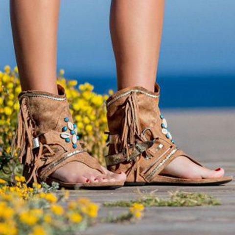 Rhinestone Pu Sandals