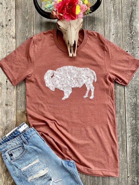 Short Sleeve O-Neck Shirts & Tops