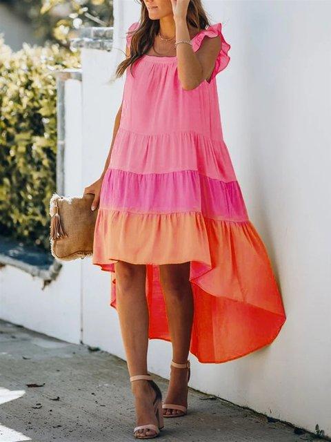 Shift Sleeveless Casual Dresses