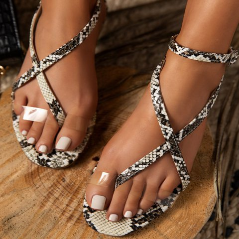 Summer Holiday Leather Sandals