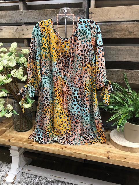 Multicolor Half Sleeve Casual Shirts & Tops