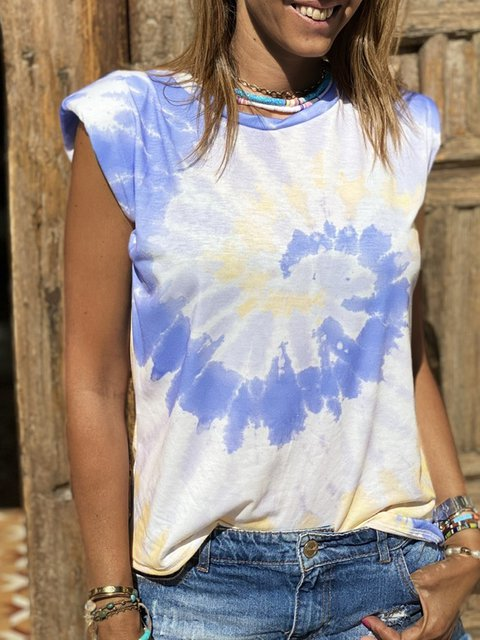 Women Summer Tee Plus Size Short Sleeve Boho T Shirts