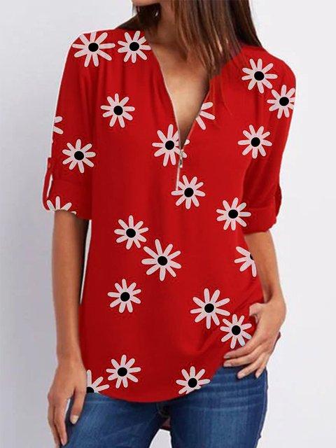 Casual Half Sleeve Shirts & Tops