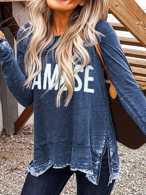 Casual Long Sleeve Shirts & Tops