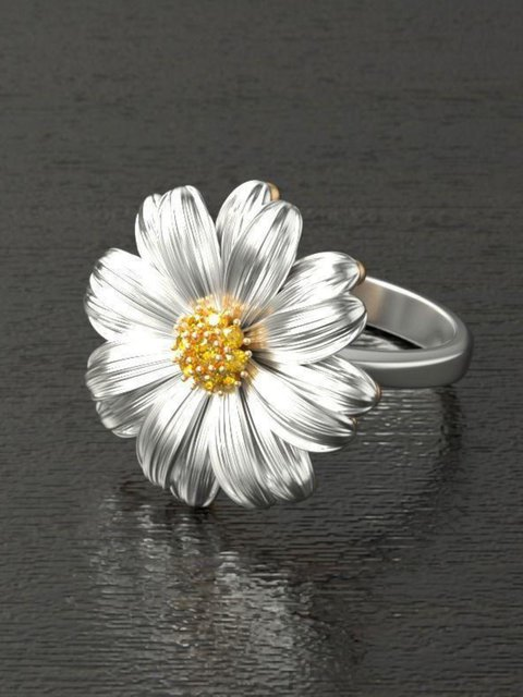 Fashion Chrysanthemum Earrings