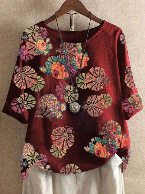 Printed Casual Shirts & Tops
