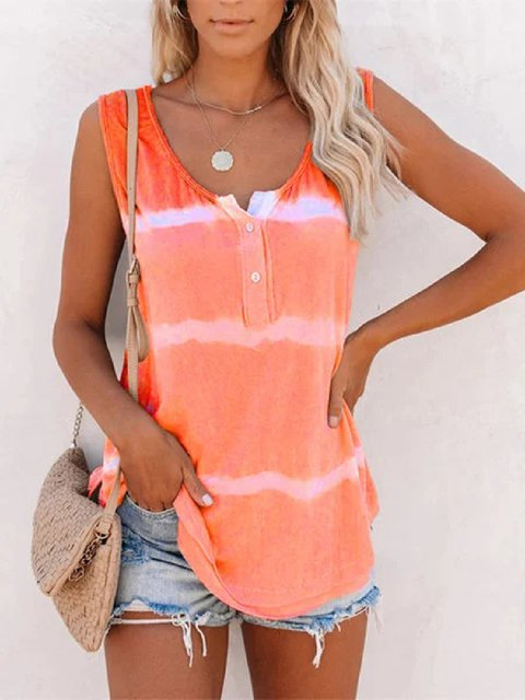 Casual Stripes Shirts & Tops