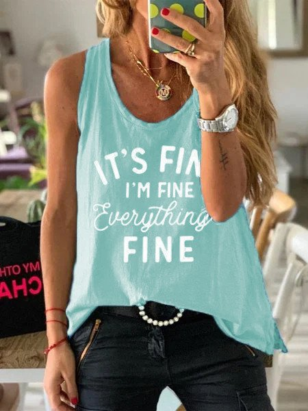 Casual Sleeveless Shirts & Tops
